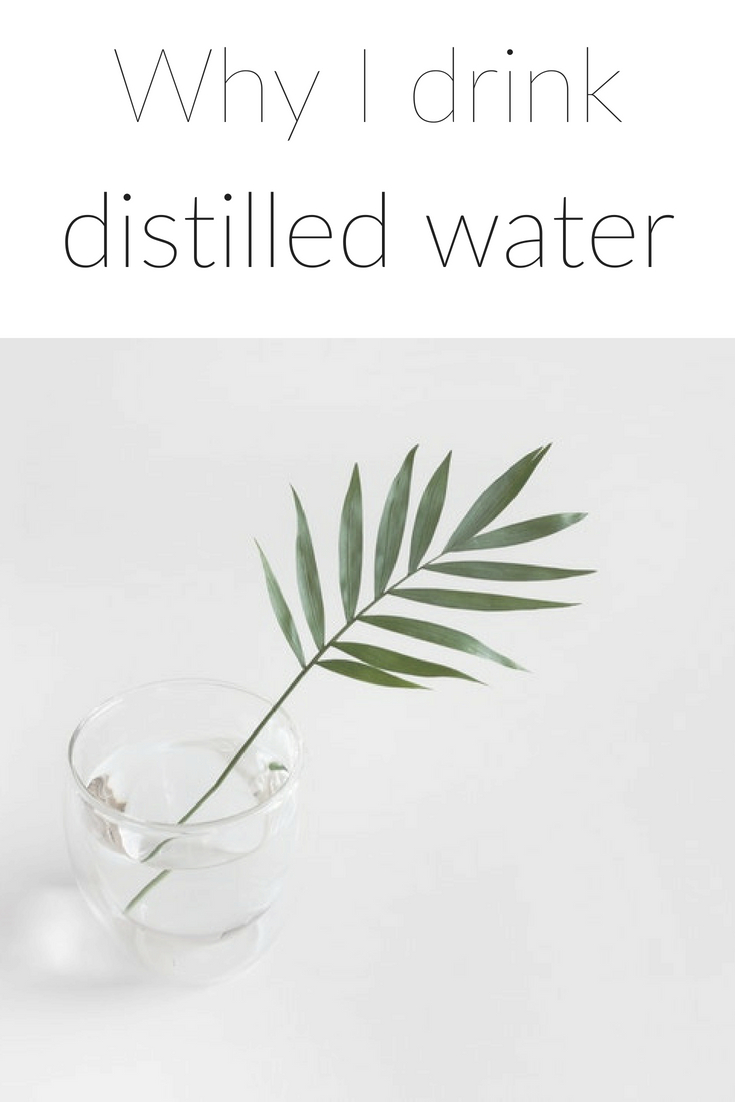 benefits distilled water