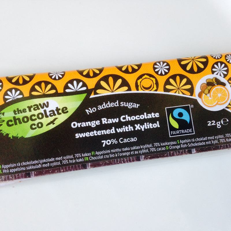 how to get a healthy chocolate fix as a vegan - the raw chocolate company xylitol orange