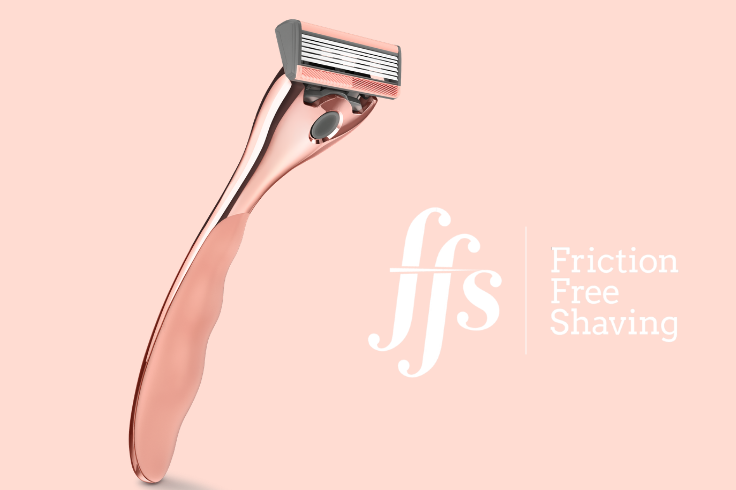 Friction Free Shaving Eco-Friendly Razor
