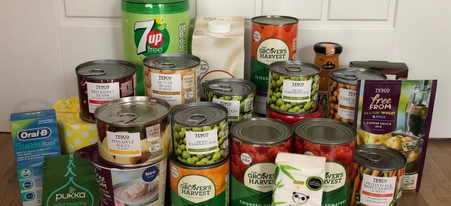 Reverse Advent Calendar #FoodBankAdvent help those in need Christmas
