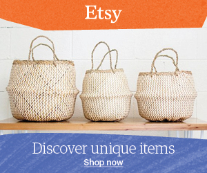 Etsy Natural Homewares Handmade