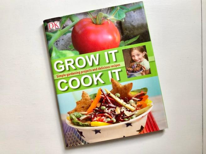 Reasons to grow your own food with kids + Grow It, Cook It book giveaway