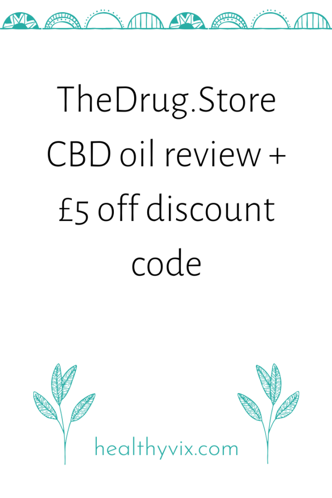 TheDrug.Store CBD oil review + £5 off discount code (6)