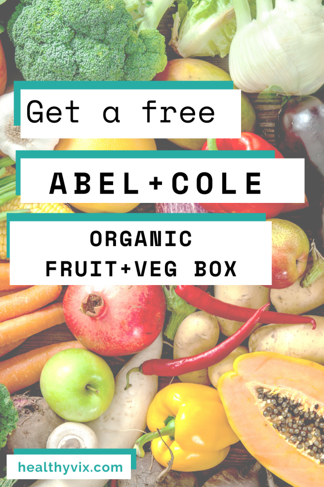 free Abel and Cole organic fruit vegetable box promo code 2020