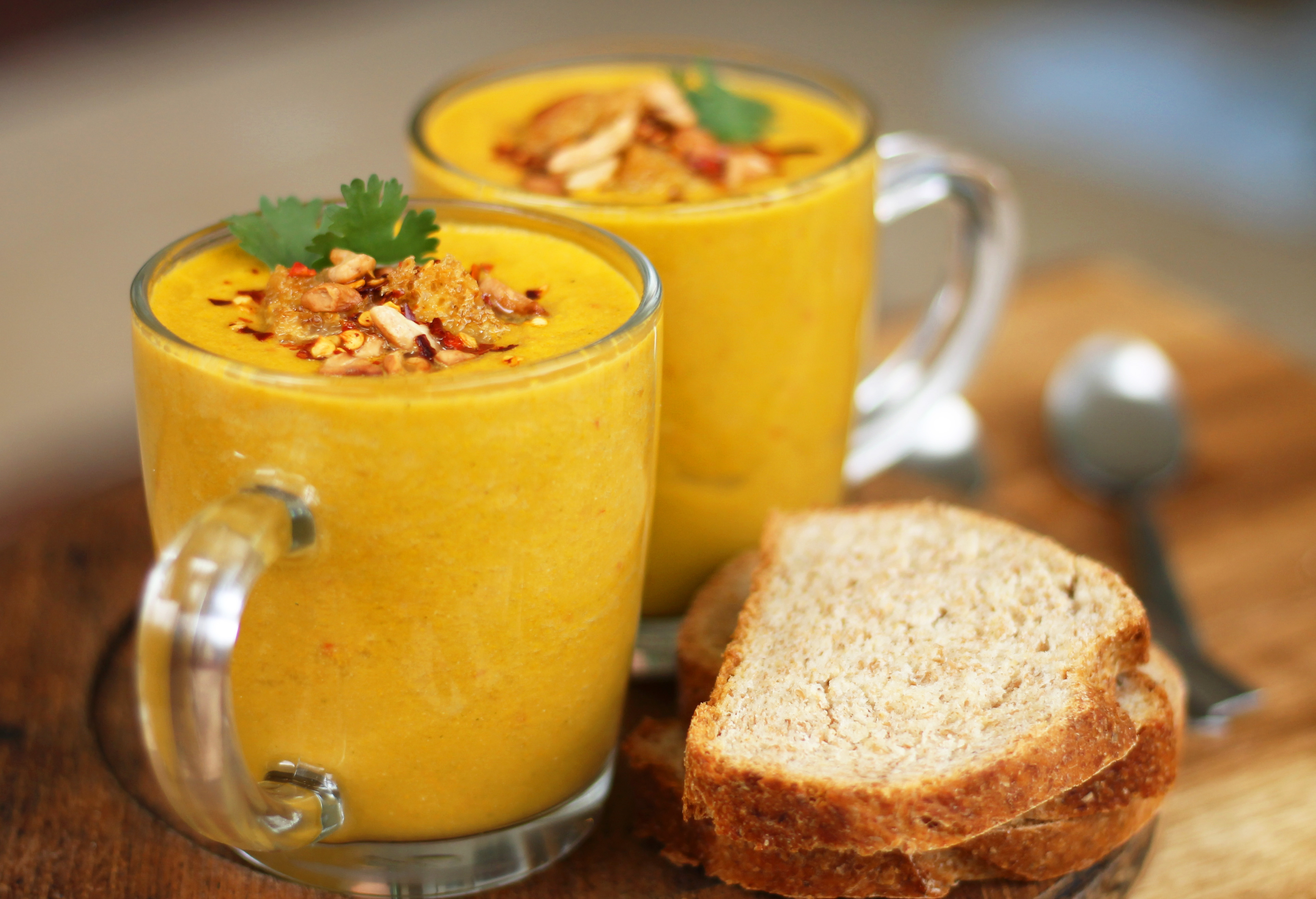 thai soup - Vegan recipes to help maximise your effectiveness