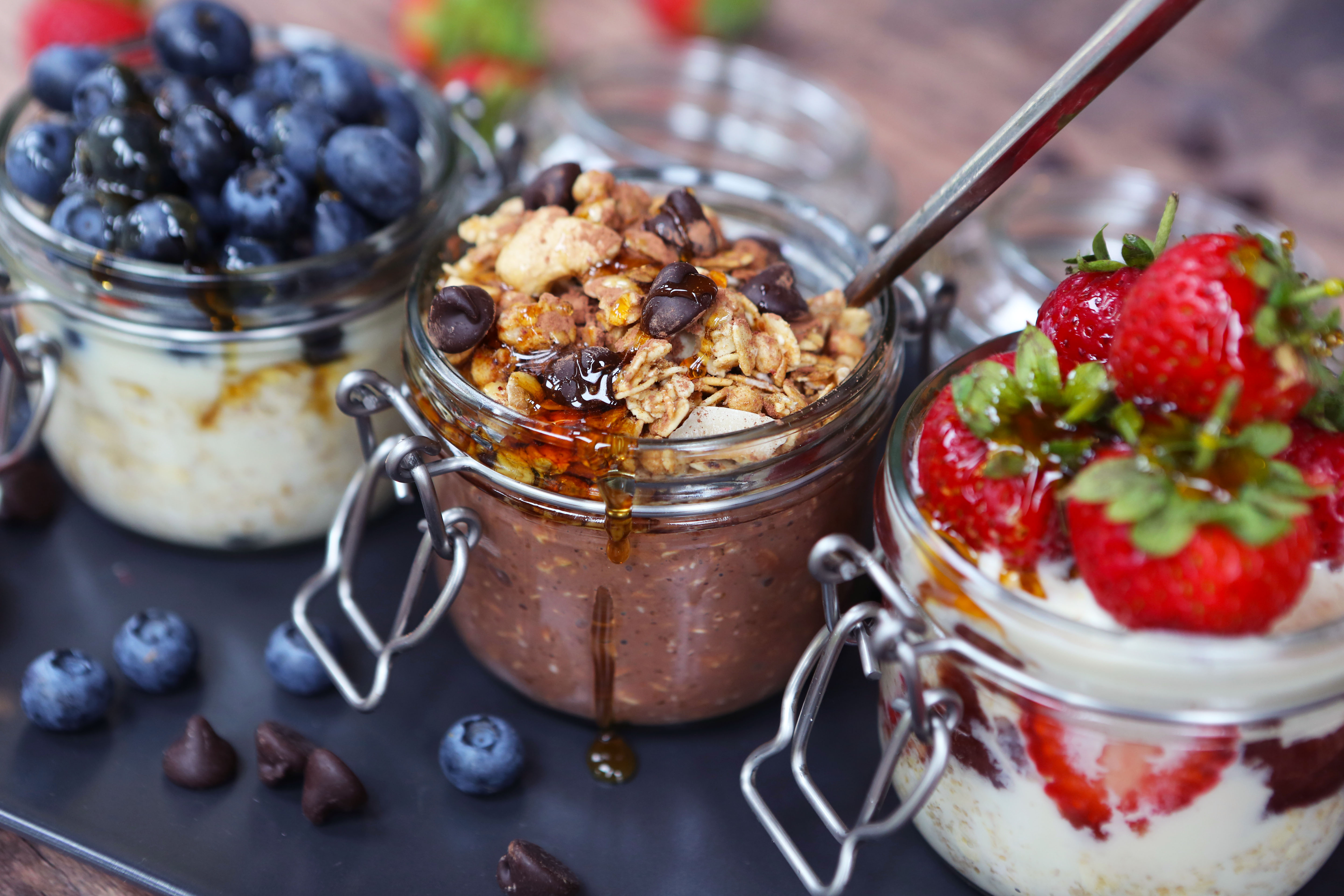 overnight oats - Vegan recipes to help maximise your effectiveness