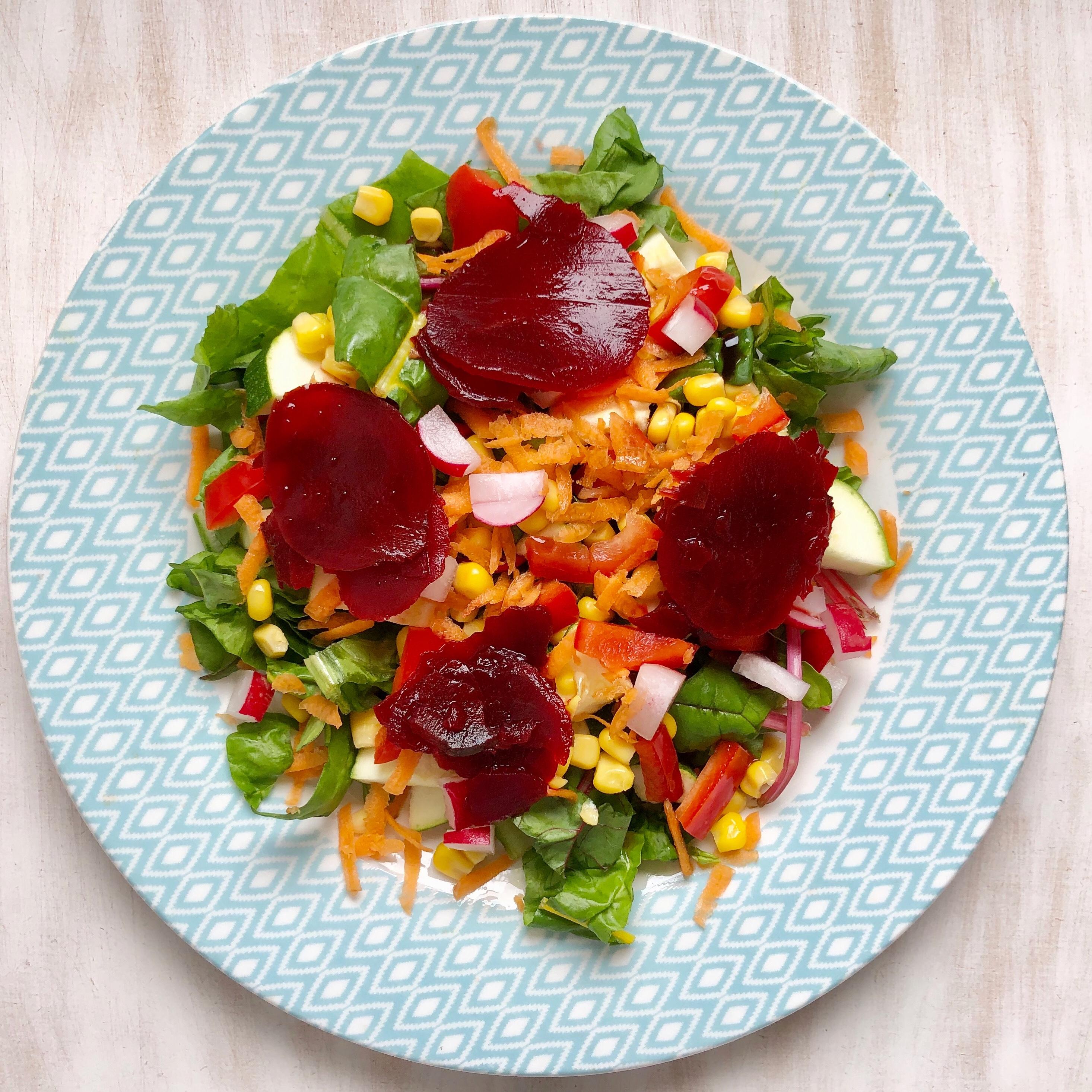 Beetroot & balsamic salad