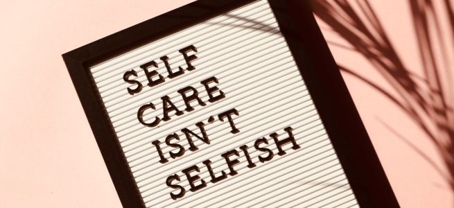 Self-care ideas to minimise stress