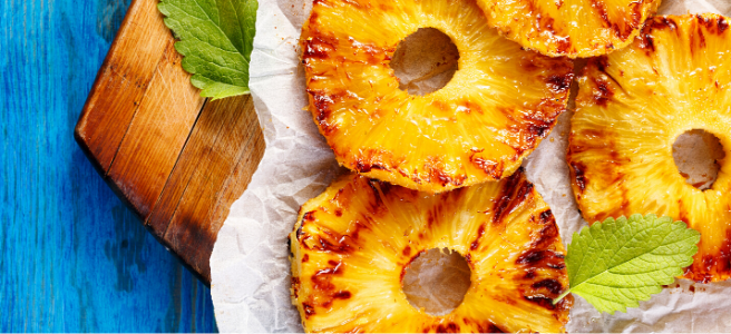 grilled pineapple rings 3 healthy vegan recipes to make this summer