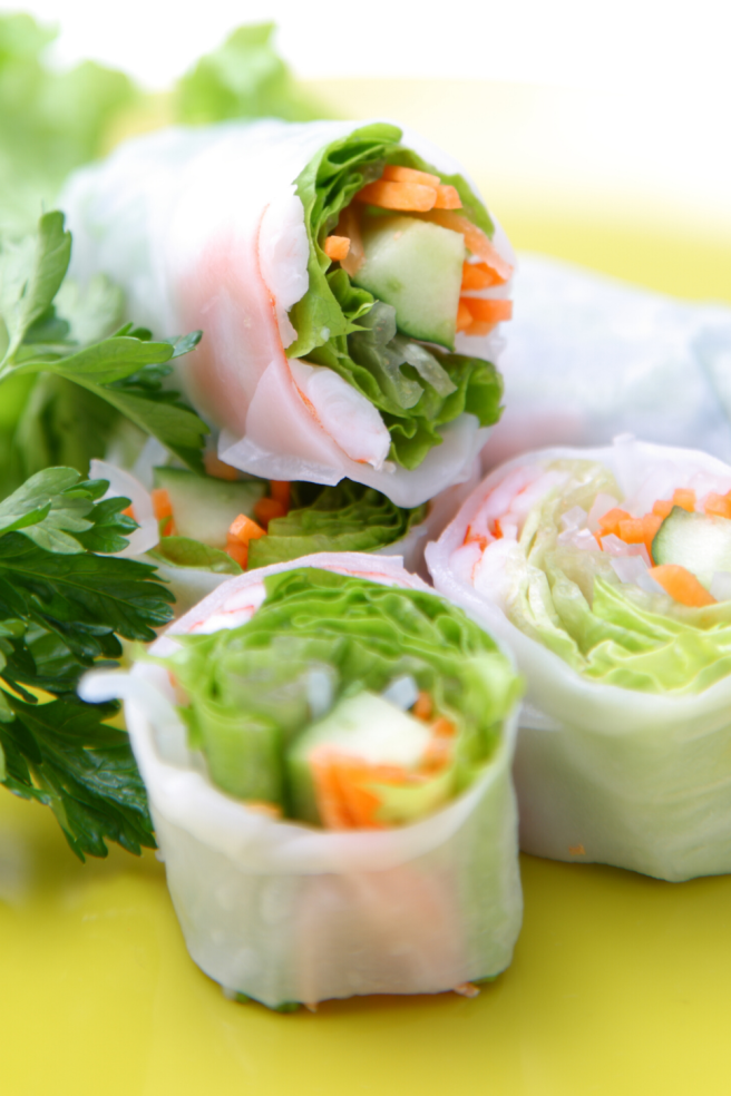 vegan summer rolls 3 healthy vegan recipes to make this summer