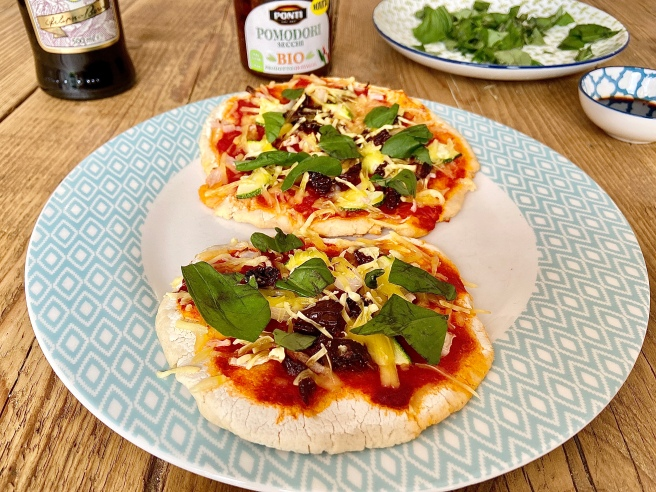 easy homemade pizza recipe vegan
