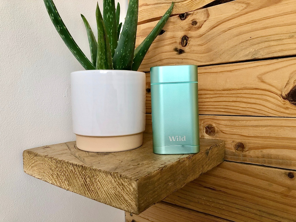 Wild zero waste natural deodorant review + £5 off discount code