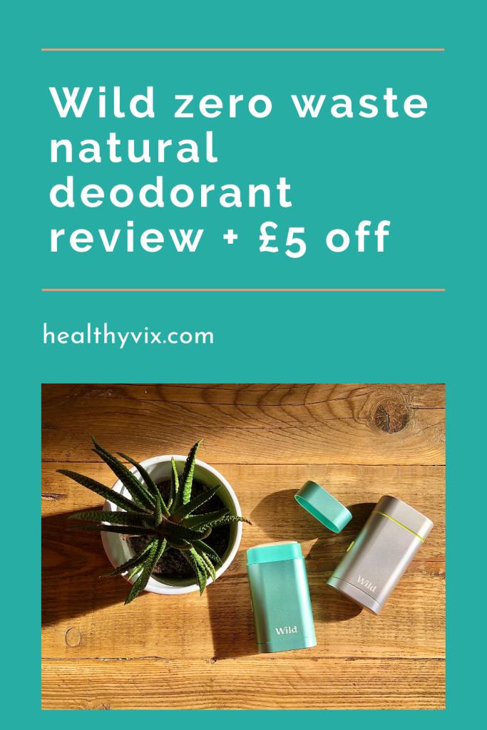 Wild natural deodorant discount code
