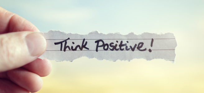 6 steps to be more positive