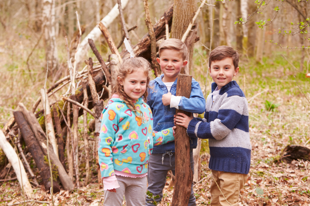 How does outdoor education benefit a child's health?
