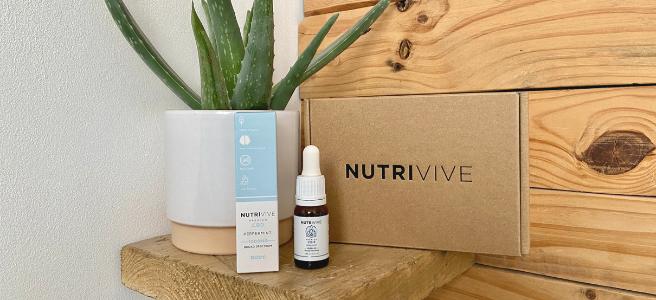 Nutrivive peppermint CBD oil review + WIN CBD infused moisturiser