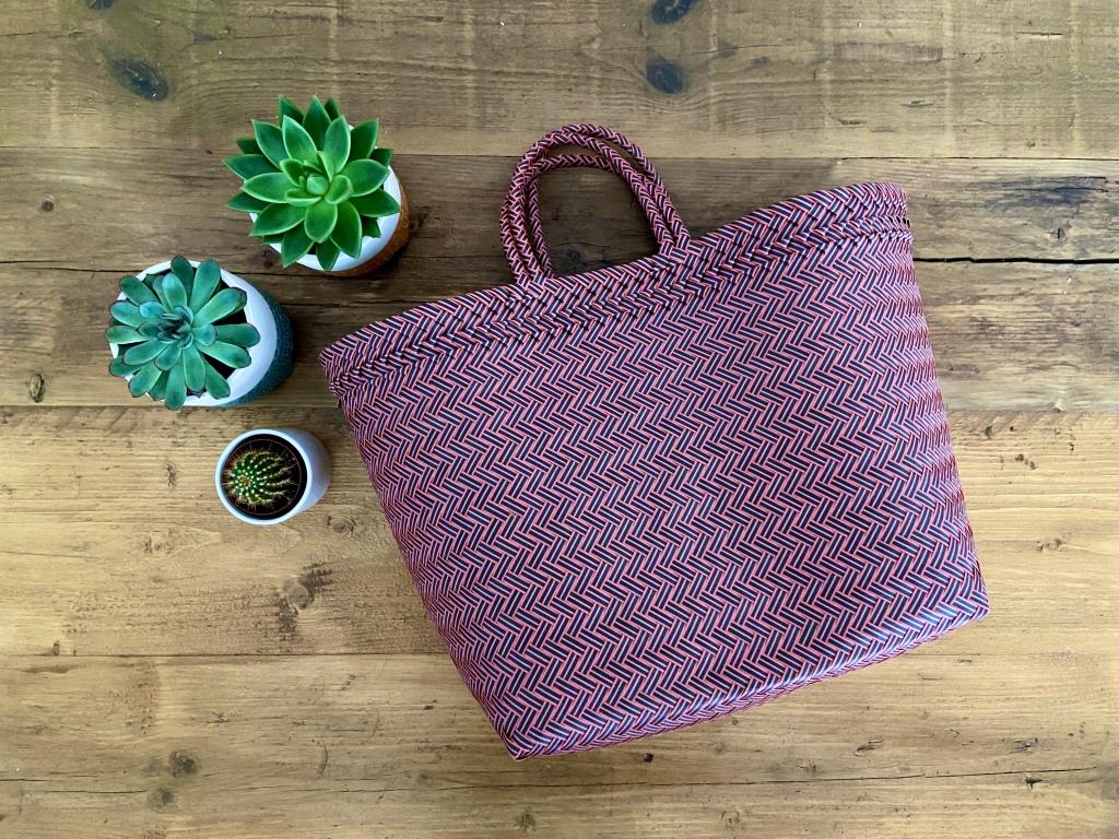 Shopper handbag recycled water bottles fashion eco-friendly gifts