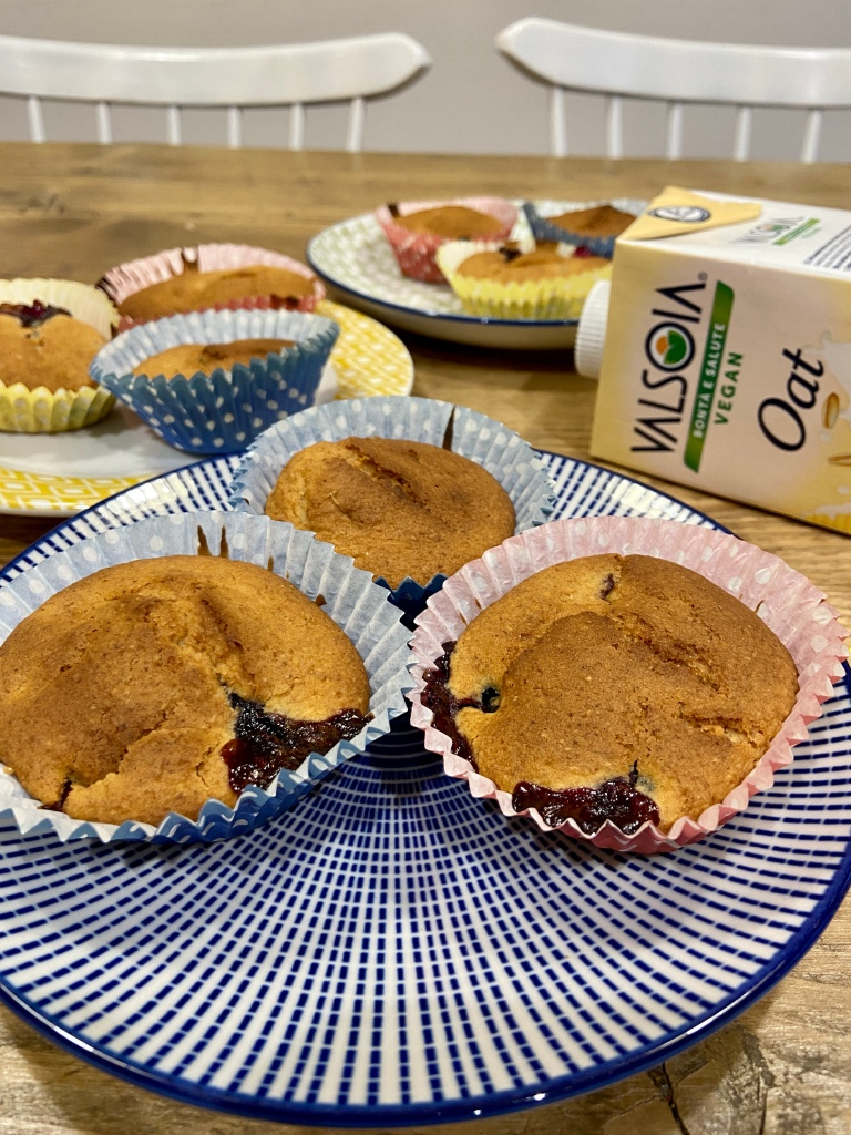 vegan blueberry cupcakes
