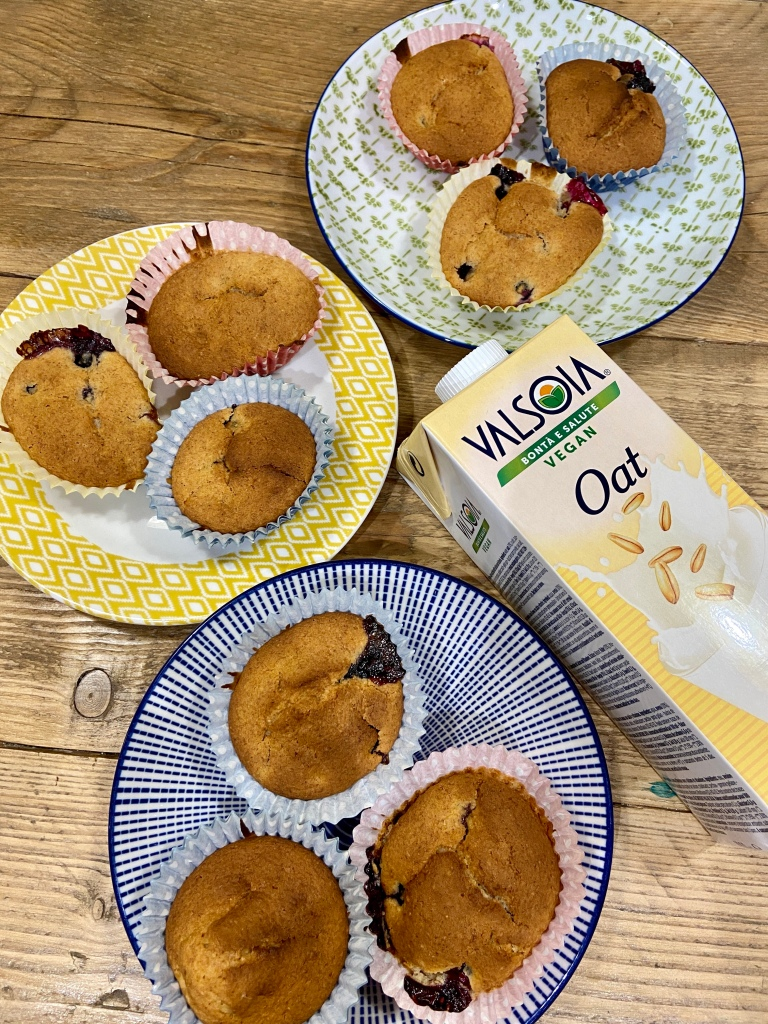 blueberry cupcakes vegan