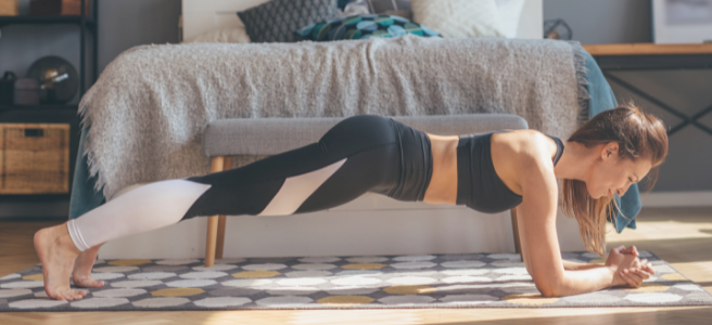 How to make an at-home workout plan